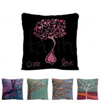 Beautiful Tree Cushion Cover Decorative Pillow