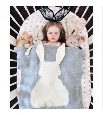 Baby Blanket Cute Rabbit Animals Pattern Sleep Bag
