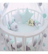 200cm Length Baby Bed Bumper