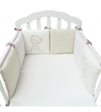 Baby Bed Bumper Protector Bedding Set