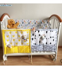 Baby Cotton Crib Organizer Bedding Set