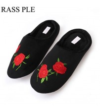 Comfortable Shoes Cotton Fluffy Slippers
