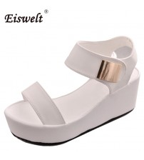 Concise Platform Open Toe Casual Shoes
