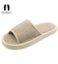Natural Flax Home Slippers Shoes