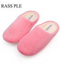 Soft Plush Cotton Cute Slippers Shoes