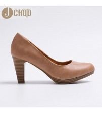 Med Heels  High Quality Shoes Classic Pumps
