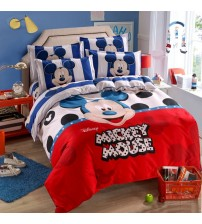 Disney Mickey Mouse Mouse Minnie Winnie Duvet Cover Set