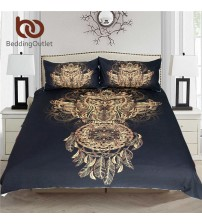 Bedding Outlet Golden Owl Bedding Set