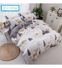 Bedroom 4pc Ocean Series Bedding Set