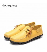 Cow Leather Women's Casual Shoes Moccasins