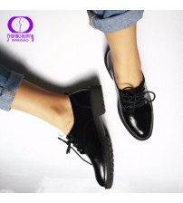Flats British Style Oxford Shoes