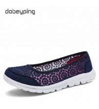 Fashion Lace Woman Loafers Slip-On