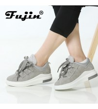 Fujin Breathable Round Toe Casual Shoes