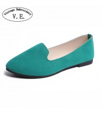 Flats Candy Color Woman Loafers