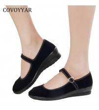 Flats Buckle Strap Comfortable Women Shoes