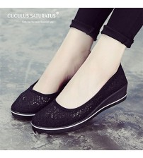 Cuculus Canvas Nurse Shoes Platform