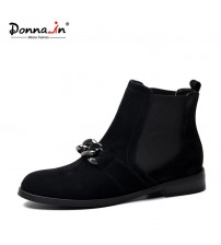 Chelsea Women Genuine Leather Ankle Boots