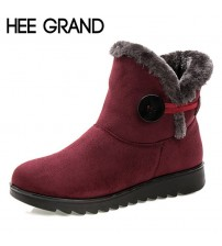 Flock Warm Ankle Snow Boots