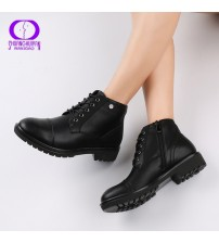 AIMEIGAO Vintage Women Ankle Boots