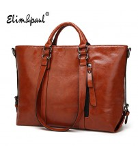 ELIM&PAUL Women Leather Handbags
