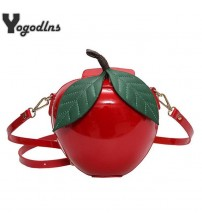 Apple Shape Shoulder Bag