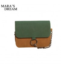 Leather Small Flap Women Crossbody Bag