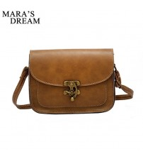 Fashion Lock Small Women Messenger Bag
