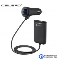 4 USB Port Car Charger Quick Charge