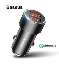 Baseus 36W Dual USB Quick Charger QC 3.0