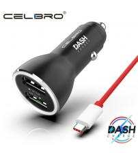 Charge Metal Car Charger Dual USB