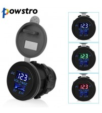 5V 2.1A USB Ports Car Charger Voltage