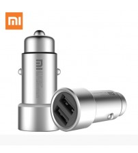 100% Original Xiaomi Mi Car Charger Dual USB
