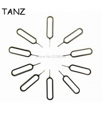 10 PCS Metal Sim Card Tray Removal Eject Pin Key Tool Needle For Iphone