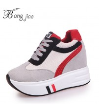 BANGJIAO Women Sneakers Platform Shoes