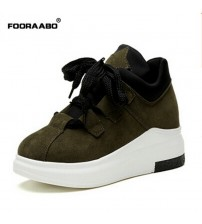 Fooraabo Platform Sneakers Shoes