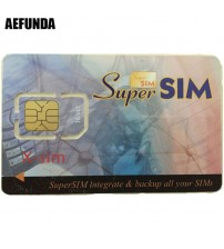 Blank SIM Card Integrate Backup All Your Sims