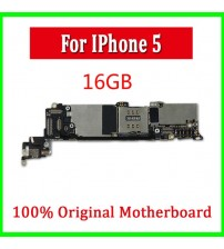 100% Full Completely Original & Unlocked 16G Mainboard For iphone 5 5g
