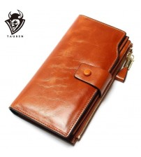 Multifunctional Purse Genuine Leather Wallet