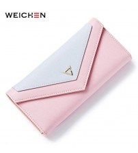Geometric Envelope Clutch Wallet
