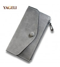 Matte Leather Women's Wallet