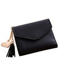 Mini Tassel Short Wallet