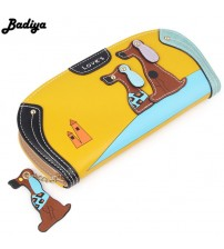 Cute Long Wallet Women PU Leather