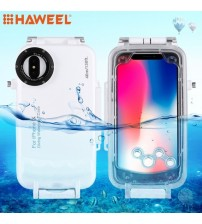 IPhone X 40M/130FT Professional Waterproof Diving Protective Housing