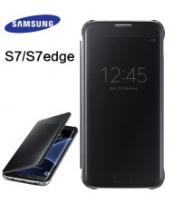 Samsung Galaxy s7 Case Mirror Clear View Smart Cover