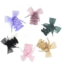 110CM Fashion Shoestrings Lace Bow