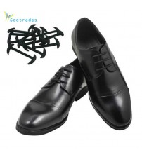 12pcs/set Leather Shoes Lazy No Tie Shoelaces