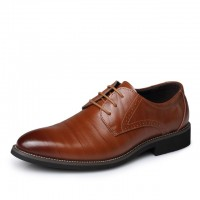 Business Men's Basic Flat Shoes
