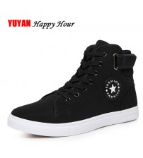 High Top Men's Casual Shoes Breathable