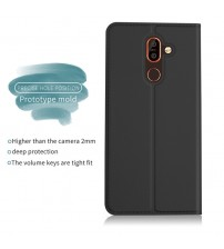 Lnobern Ultra thin Business Leather Case For Nokia 7 Plus