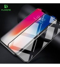 9H Glass for iPhone X Screen Protector 3D Arc Curved